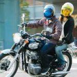 バイクに乗せてもらうなら
