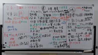 台南一日観光コースを考えよう!(1/18日台交流会報告)