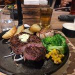 台北の安くて美味しい突然ステーキへ行ってみた