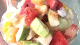 台湾の夏の定番料理とドリンク